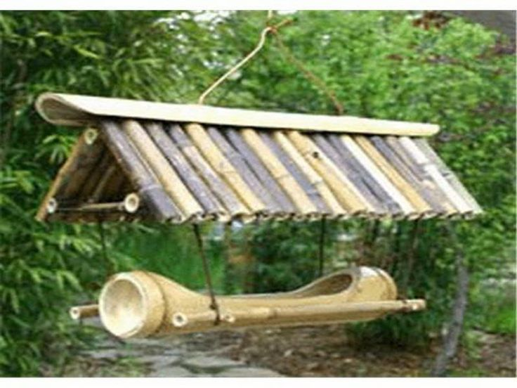 bird houses | Bamboo Bird Houses for Feeder