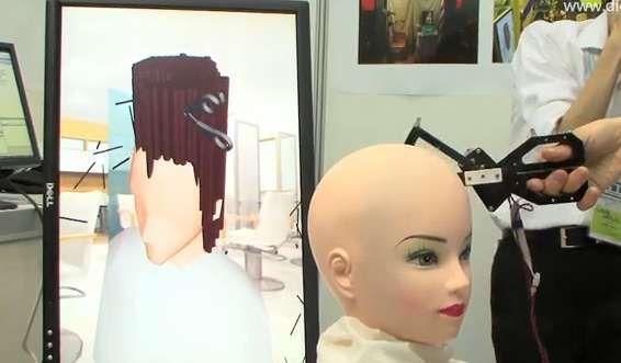 Air Hair Haircut Simulator #hairstyles