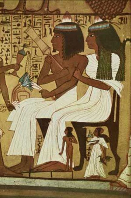 Egyptian couple.
