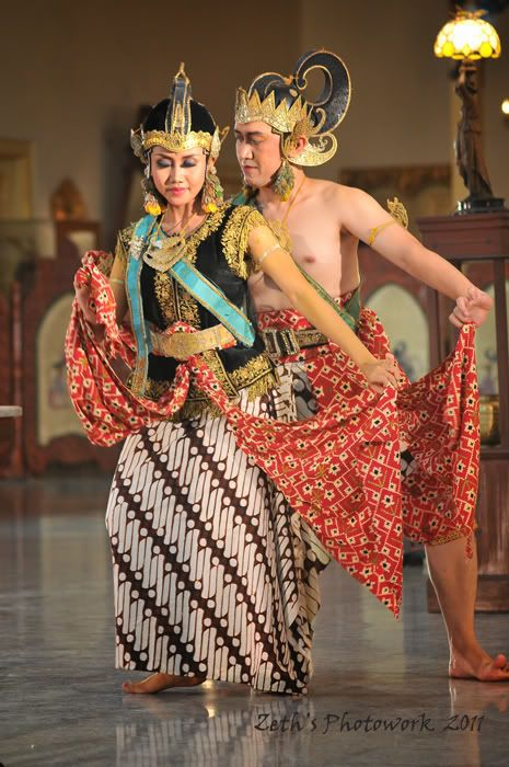 Wayang Orang - Traditional dance of Java, Indonesia