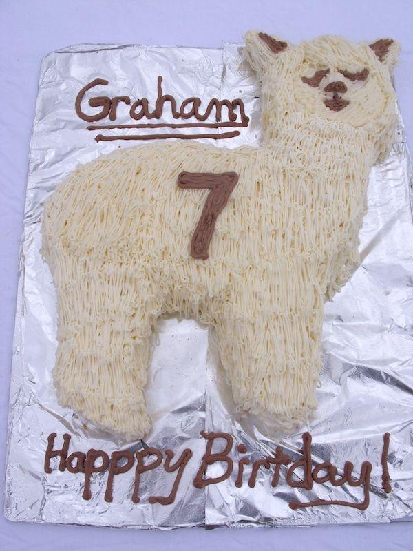 Alpaca Cake All Things Alpaca Cupcake Cakes