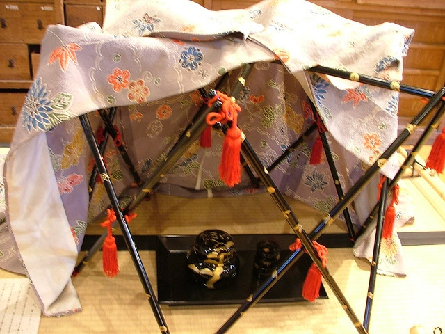 Copy of Heian era incense clothing rack. by crimsongriffin28, via Flickr