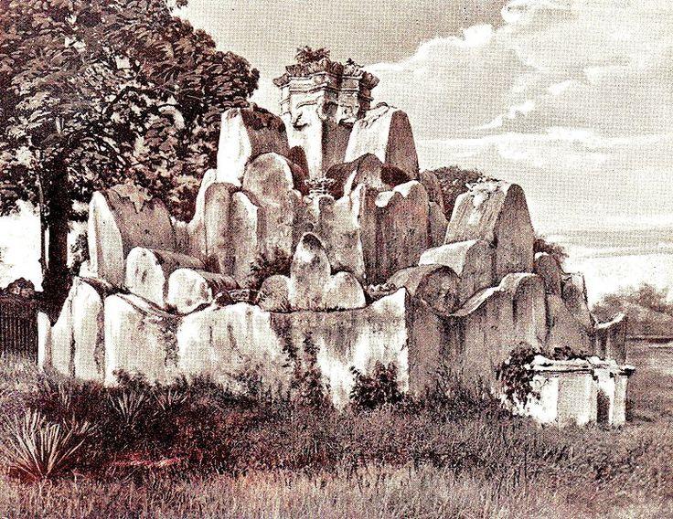 Taman Bunga Teratai Gunongan Kraton Kotaraja: juru foto: G.B. Hooijer (1896)
