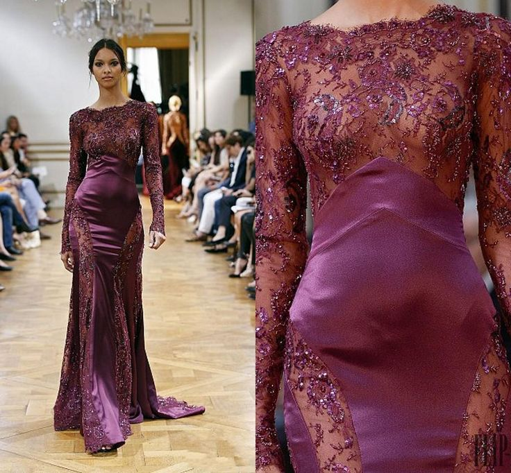 New Zuhair Murad Mermaid Evening Dresses Illusion Long Sleeves Applique Crystal Couture Prom Party Dresses Evening Wear Vestidos Noche Long Backless Evening Dresses Long Black Evening Dresses Uk From Lovely518, $167.54| Dhgate.Com