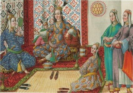 In the Harem - Favorite of the Sultan