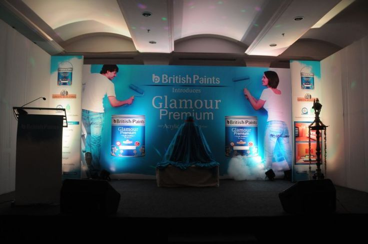 We're delighted to see our network growing! British Paints formally launched its latest offering by the name of Glamour Premium Acrylic Emulsion