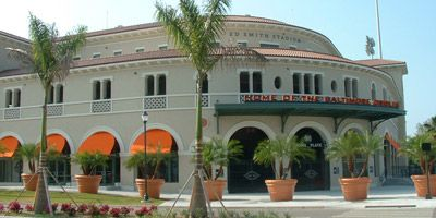 "2012 marked the third consecutive Spring Training for the Orioles in Sarasota, and the second in the renovated Ed Smith Stadium. With its modern amenities mixed with historical Florida architecture, Ed Smith Stadium has truly become ""Birdland South."""