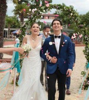 Medcezir Mira ve Yaman evleniyor. Çağatay Ulusoy Serenay Sarıkaya
