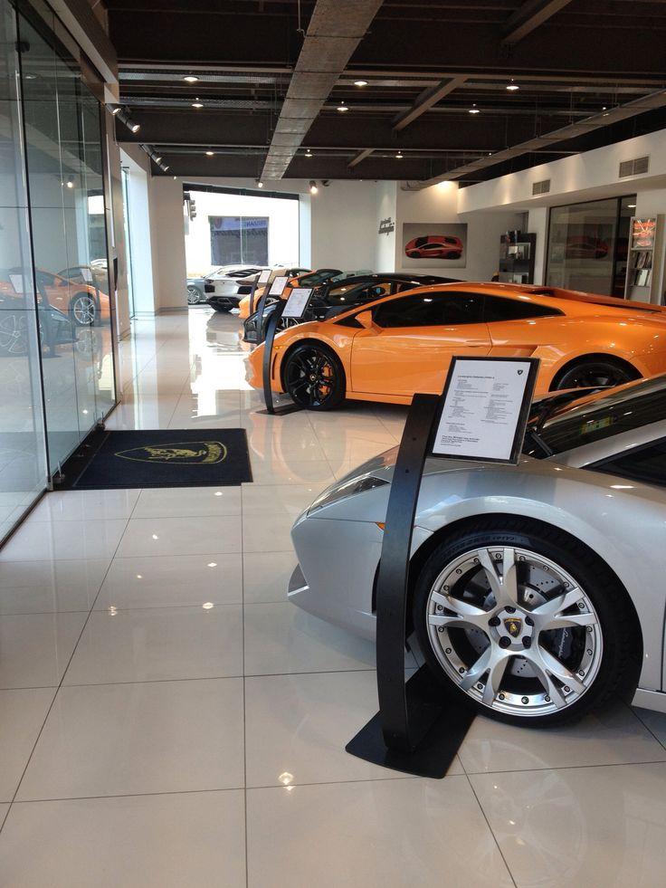 Lamborghini Showroom and Caffe' - beautiful Cars!!!