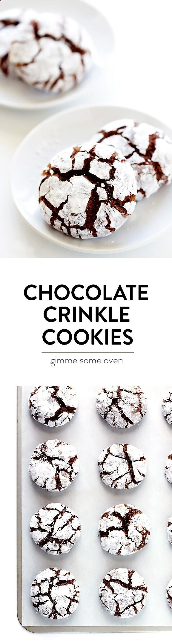 This Chocolate Crinkle Cookies recipe is a classic for a reason! Theyre easy to make, wonderfully sweet and chocolatey, and perfect for the holidays!