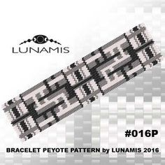 PATTERN ONLY. Create this beautiful peyote cuff bracelet. Miyuki Delica Beads size 11/0 3 bead colors. 32 bead columns by 95 bead rows. Width: 1.7 (4,3 cm) Length: 6.6 (16,7 cm) Patterns include: - Large colored numbered graph paper (and non-numbered in another files) - Bead legend (numbers and names of delica beads colors ) - Word chart - Pattern preview This pattern is intended for users that have experience with even count peyote and the pattern itself does NOT include instructions on ...