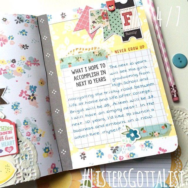 #ListersGottaList - April 7 - Scrapbook.com