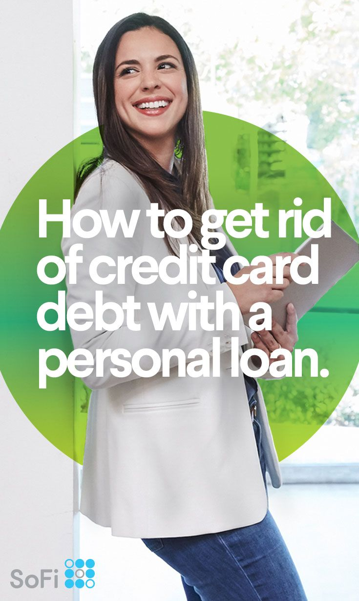 There are a few cases where taking on debt to pay off other debt can actually end up saving you money for your budget. Here's how to get rid of bad credit card debt by paying it off with a personal loan.
