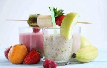 Frullati di frutta allo #yogurt
