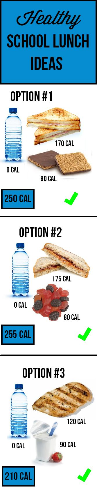Healthy School Lunch Ideas - All under 300 calories! Azure Standard natural and organic ingredients would be amazing in this recipe! Contact us at today 785-380-0034 if you are interested in having high quality affordable organics delivered to your area.