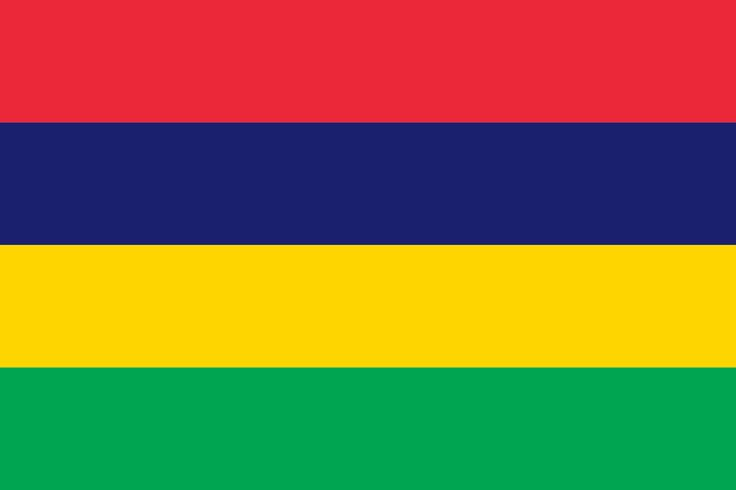 Mauritius Country Flag