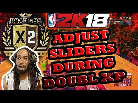 NBA 2K18 - HAVE 2K BEEN ADJUSTING THE SLIDERS DURING DOUBLE XP