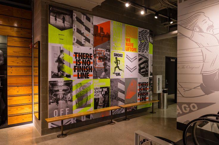 Nike Chicago • Retail Design • Jessica Davis