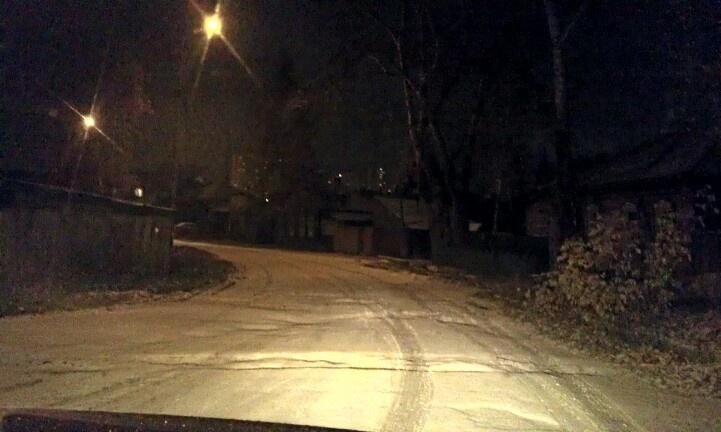 #томск #ночь #снег