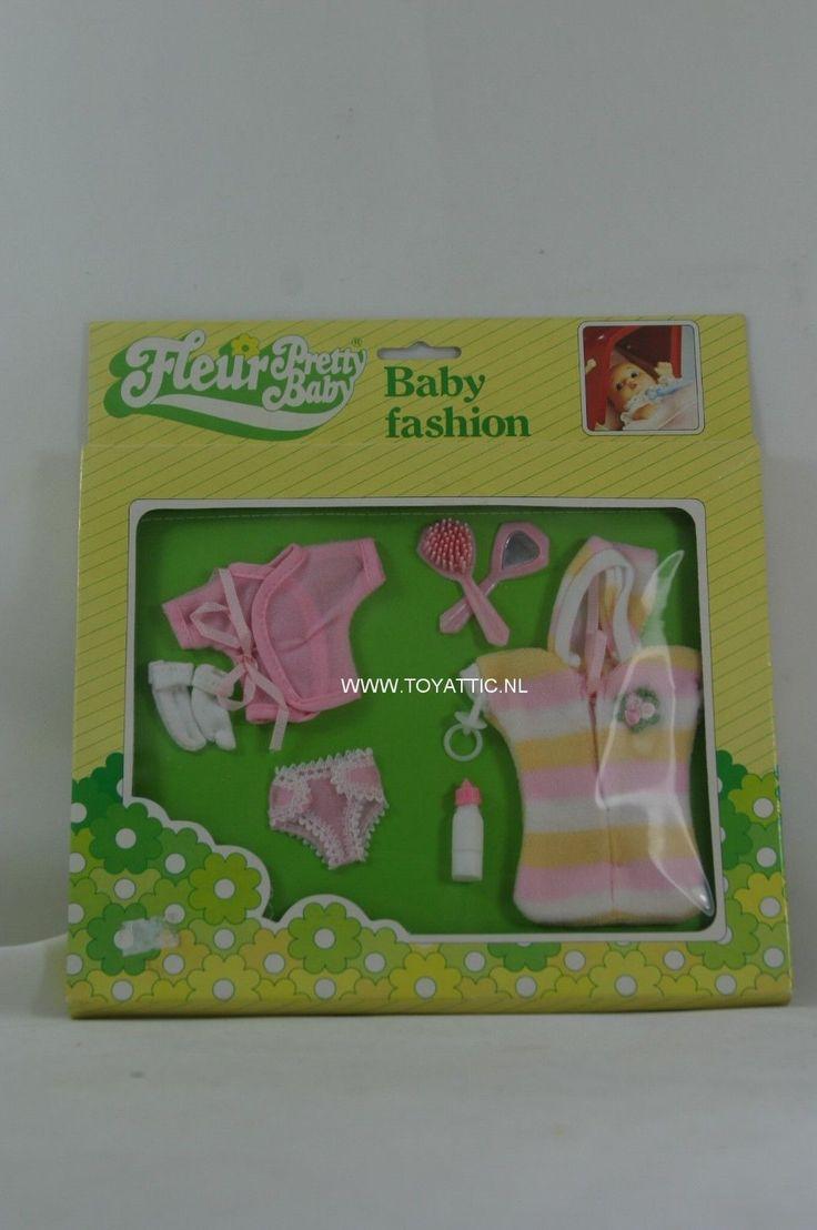 Fleur ( dutch Sindy ) pretty baby fashion set no. 385 - 1502 New - NRFB   eBay