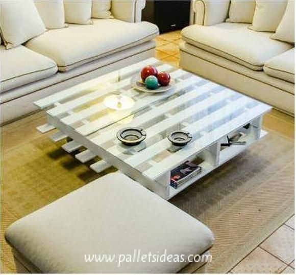 Beauty of Pallet Coffee Table