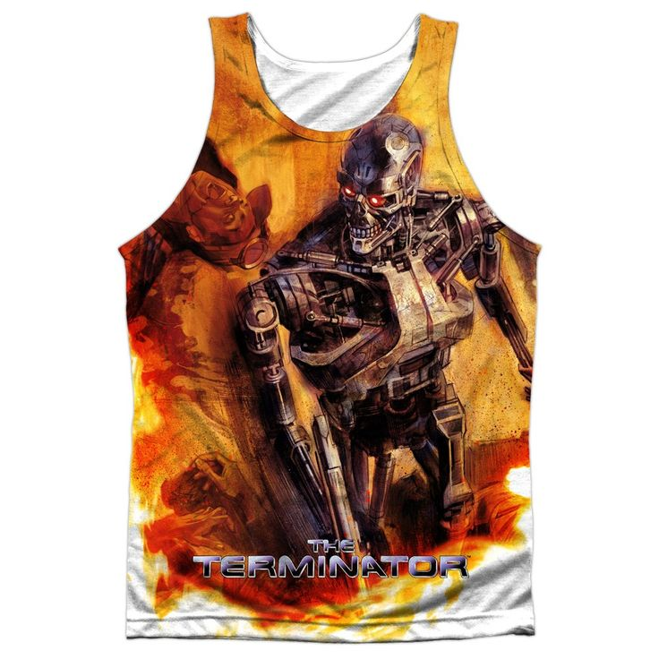 """Checkout our #LicensedGear products FREE SHIPPING + 10% OFF Coupon Code """"Official"""" Terminator/killing Fields-adult 100% Poly Tank T- Shirt - Terminator/killing Fields-adult 100% Poly Tank T- Shirt - Price: $24.99. Buy now at https://officiallylicensedgear.com/terminator-killing-fields-adult-100-poly-tank-shirt-licensed"""