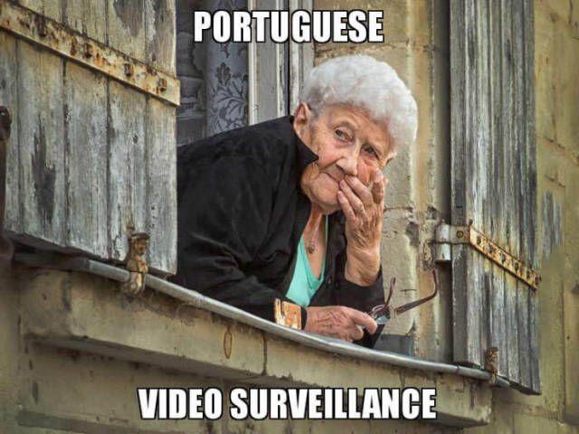 Portuguese video surveillance.