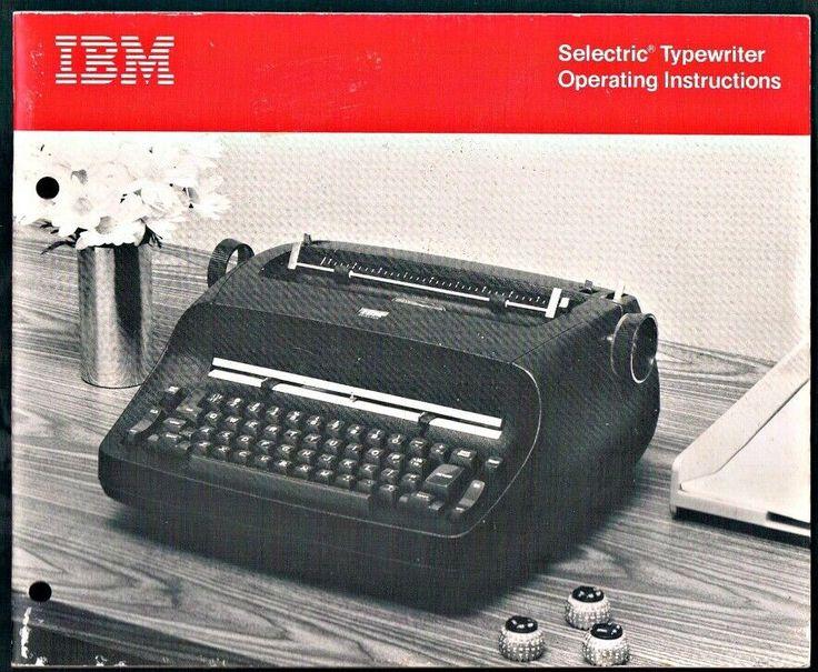 The Typewriter Repair Bible Series