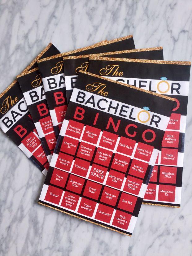 Free Printables for Bachelor Bingo and Bachelor Brackets!