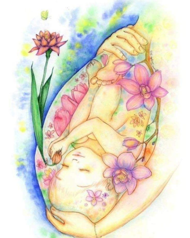 Картинки беременность рисунок