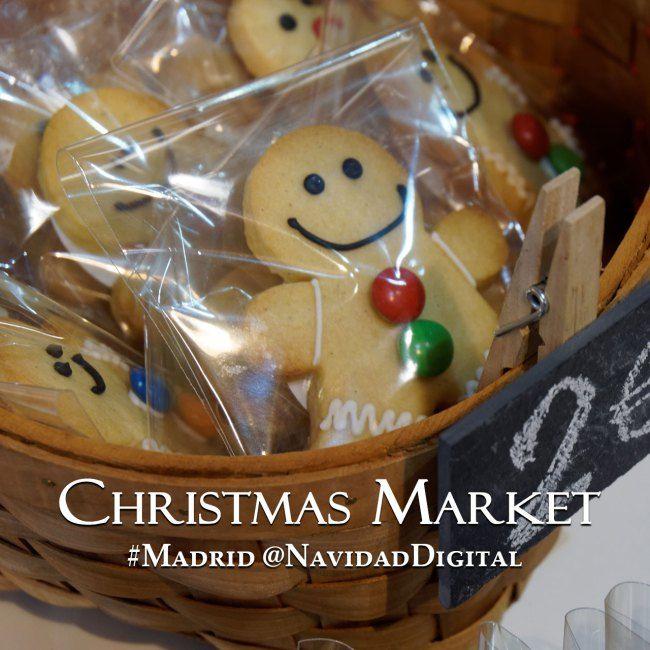 Galletitas de jengibre en el Mercado de Navidad de Goya 2014