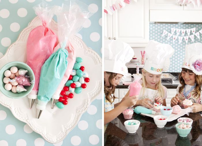 Baking party {One Charming Party via Amy Atlas}