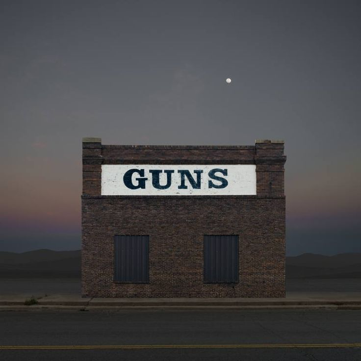 "Saatchi Art Artist Ed Freeman; Photography, ""Gun Store, Vernon TX. Edition 1 of 9"" #art"