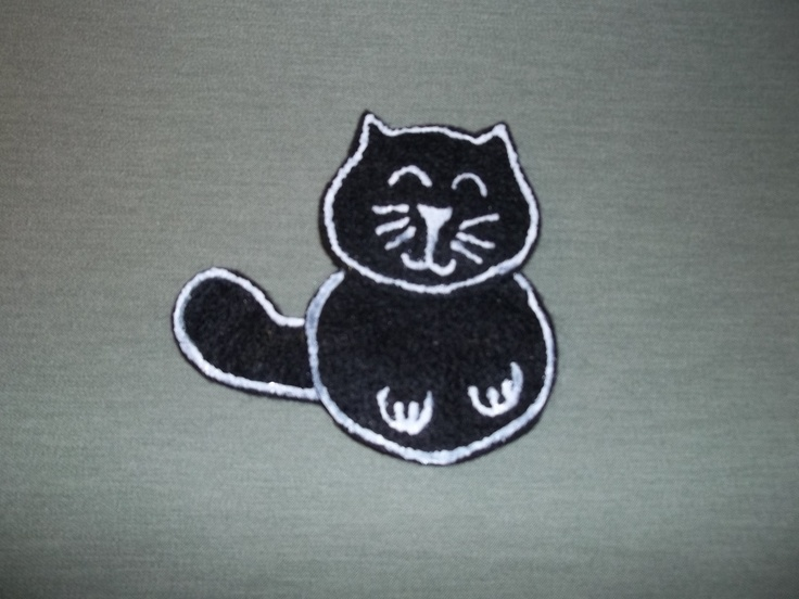 Black Cat Finger Puppet $1.00