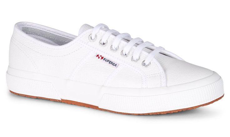 SUPERGA - 2750 Cotu Leather - White