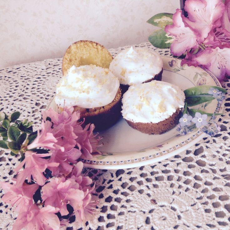 Lemon Meringue Cupcakes ❤ ️Made by Gilly and Lauren