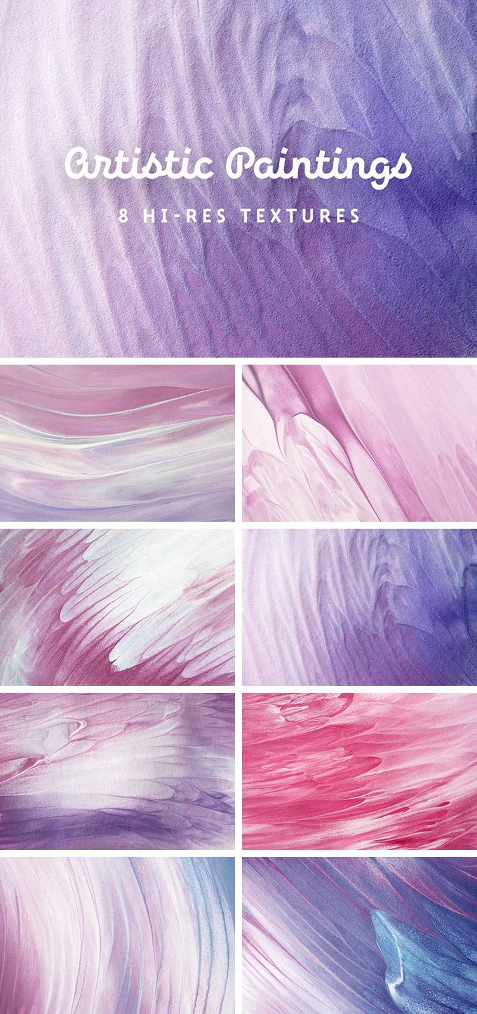 Artistic Painting Texture Set - download freebie by PixelBuddha