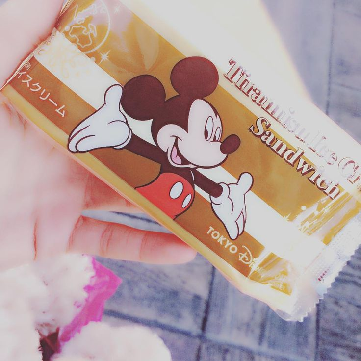 Yummylicious ❤ #smile #かわいい #disney #disneysea #love #icecream #happy #me #おいしい