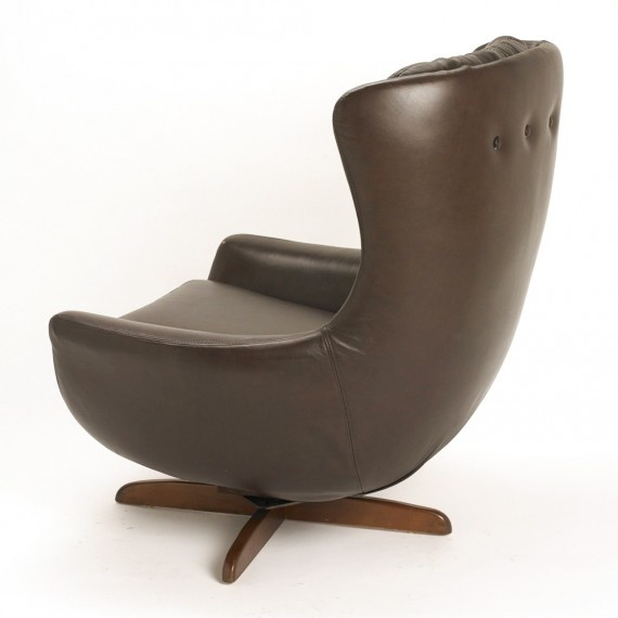 A Shapely Swivel Seat Inspired By Mid Century Design Our: 21 Best Images About Armchairs On Pinterest