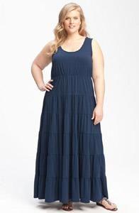 Пошить летнее платье большого размера