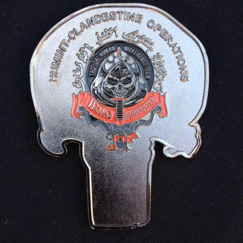CIA Spec Ops Iraq Afghanistan Taliban Al Queda Punisher Challenge Coin | eBay