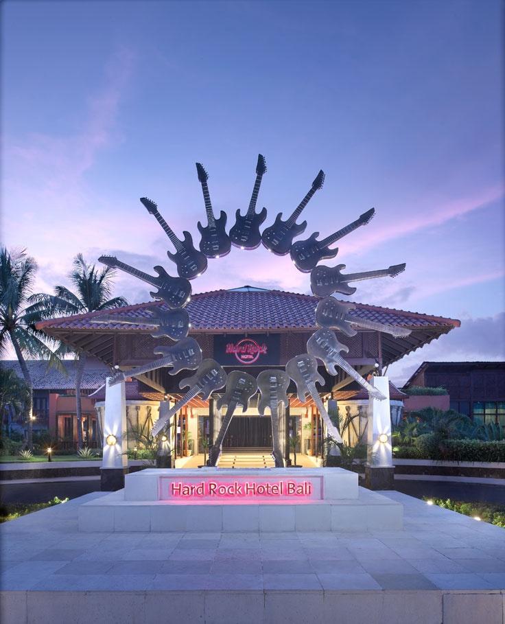 Hard Rock Hotel, Bali (Rockin Guitars)