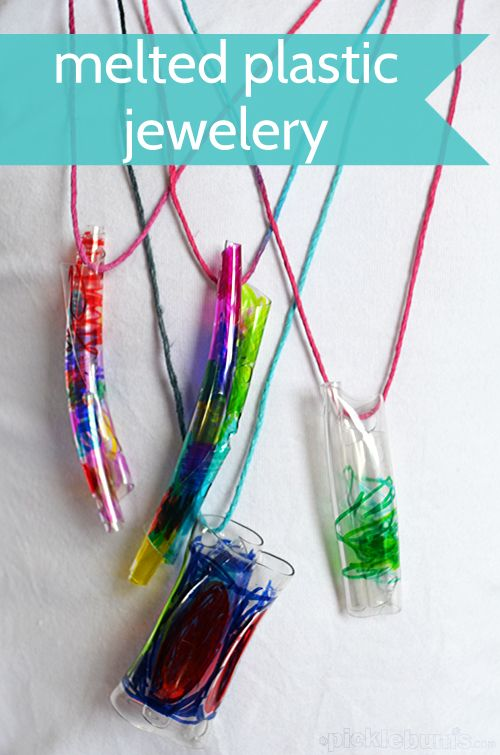 Melted Bottle Jewelery - art and science and just plain fun!