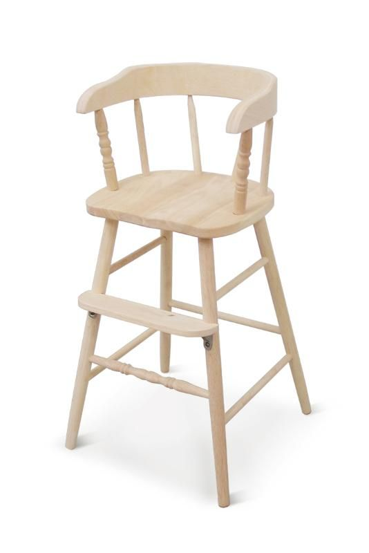 unfinished kitchen chairs outdoor ideas whitewood industries youth chair our new english cottage toddler wood high