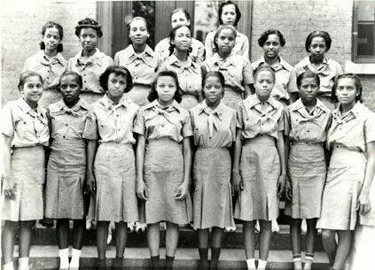 First black Girl Scout Troop 1917