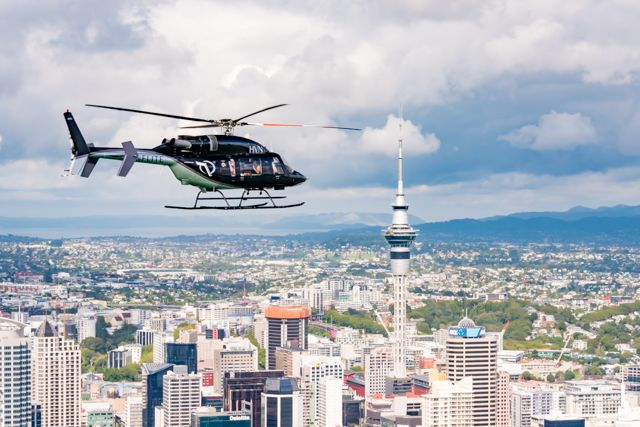 Auckland is a beautiful place, not just a great place to live but also a great place to visit.and offers a lotof things to see and doon the groundand harbour, but to truly appreciate the cityscape of Auckland, its coastline, islands and its stunning landscape, itis best appreciated fromabove with Inflite Scenic helicopter flights. Inflite helicopters provide short scenic flights around the Auckland city varying from 10 minute flights to introduce you to Auckland city highlights, fly...