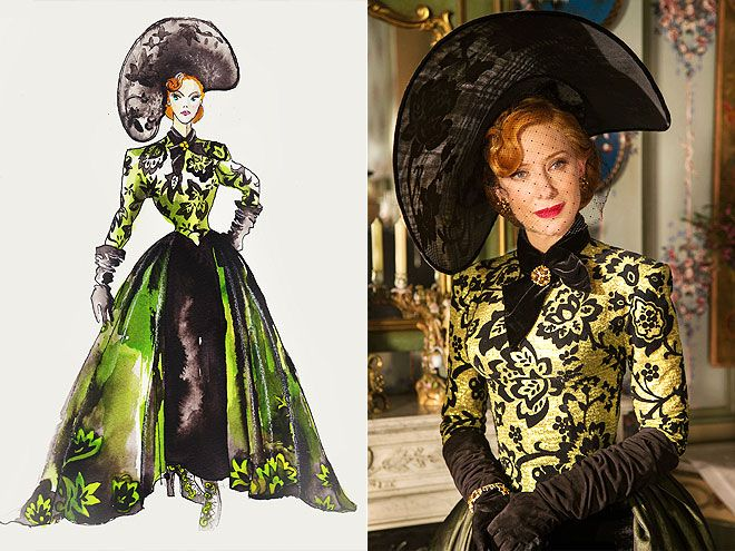Favorite Costume Designers: Sandy Powell: CINDERELLA: THE WICKEDLY STYLISH STEPMOTHER