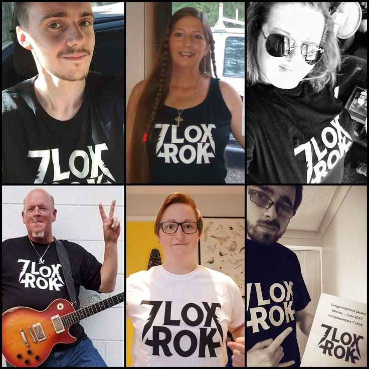 "2 Likes, 1 Comments - 7 Lox Rok (@7loxrok) on Instagram: ""Recent t-shirt winners  #hardrock  #heavymetal #heavyrock #music #musicians #t-shirt #giveaway…"""