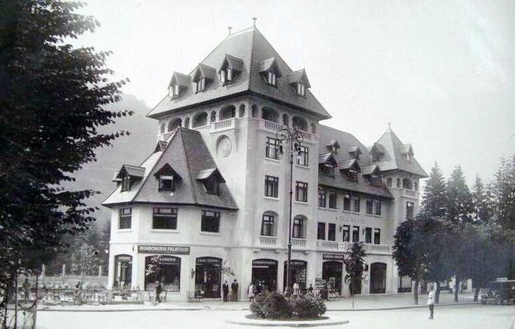 SINAIA - Cofetaria Palatului - 1930