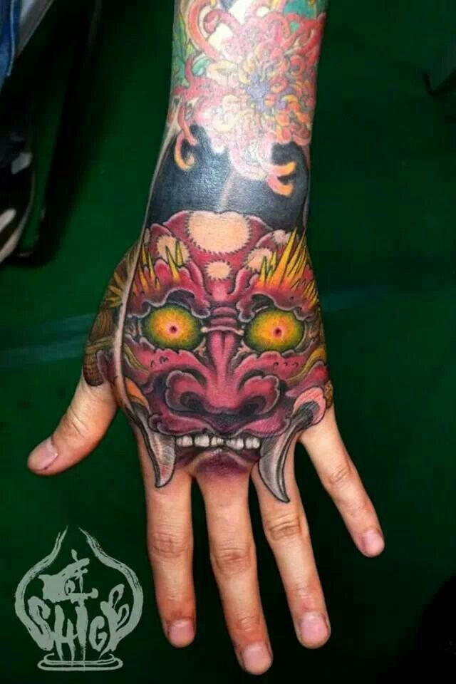By Shige of Yellow Blaze Tattoo